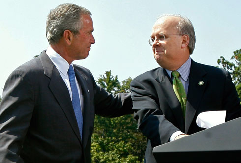 Karl Rove and George \