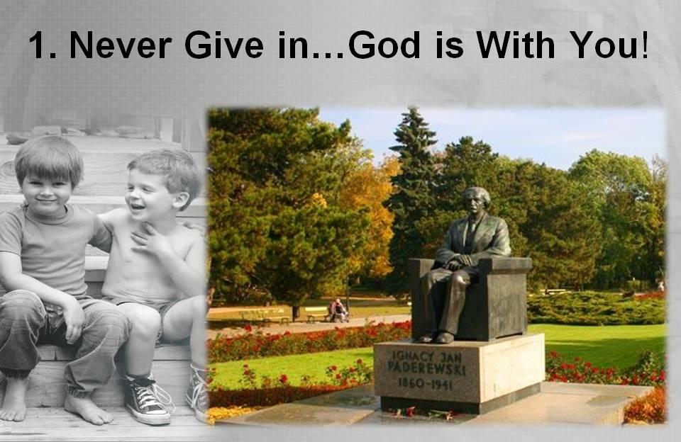Statue of Paderewski