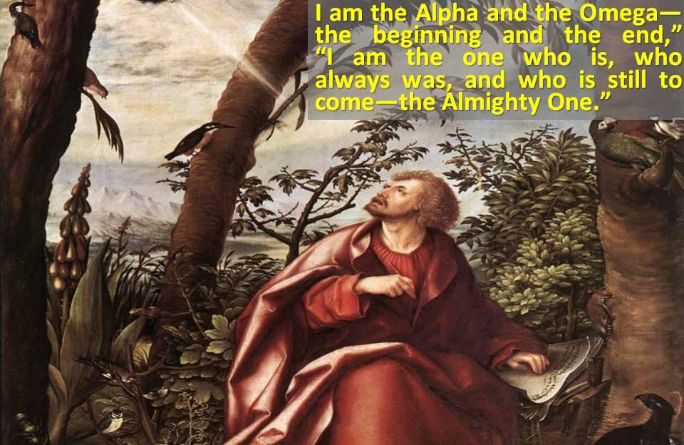John Sees Jesus