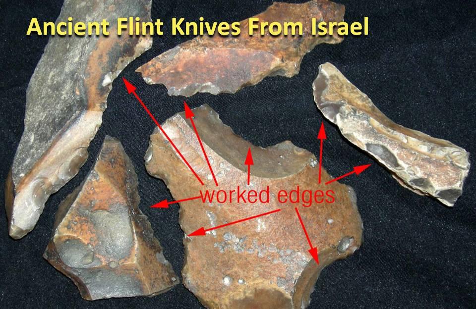 Flint Knives for Circumcision