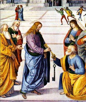 jesus keys to peter
