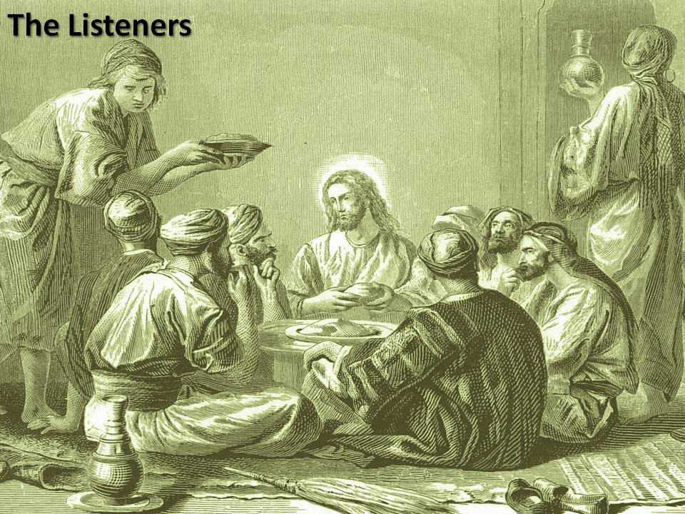 Jesus and the Listeners