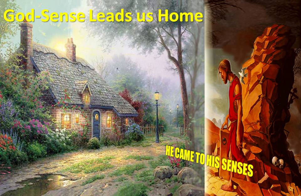 God-Sense will lead us home