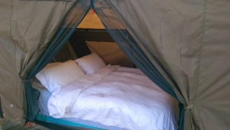 Glamping....the only way to travel