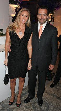 Антониу Орта-Осорио и его жена Анна