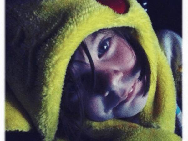 Phoenix in Pikachu hat