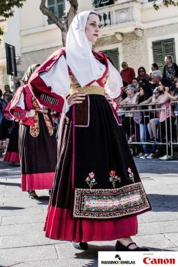 114° Sagra del Redentore Nuoro - Sfilata costumi tradizionali Sardegna - 24 Agosto 2014 - Massimo Demelas - Sponsor Tecnico Canon