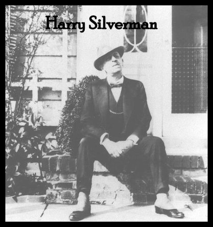 Harry Silverman with text