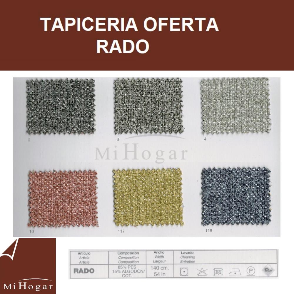 tapicería oferta rado