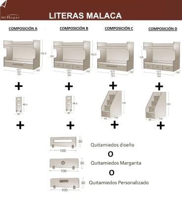 OPCIONES LITERAS INFANTIL MALACA