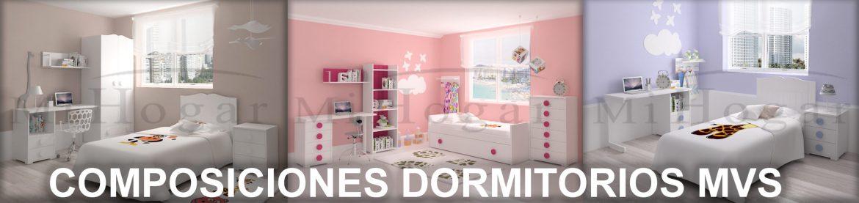 composiciones dormitorio infantil mvs