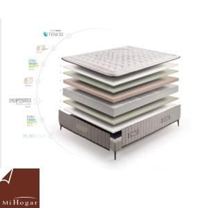 colchón viscoelastico super valladolid mueblesmihogar capas colchón
