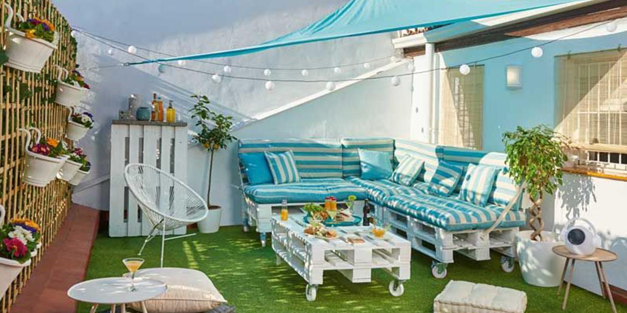 ¡Trucos para hacer de tu terraza o jardín todo un chill out!