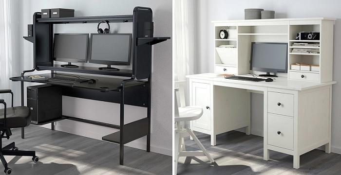 Mesas de escritorio ikea for Mesas para ordenador ikea