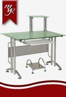 mesa para computador en vidrio ref. 251 para la venta