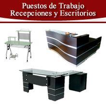 Imagen Productos puestos de trabajo, escritorios y recepciones en venta