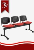 sillas de espera tandem 3 puestos risma