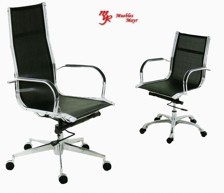 silla presidencial offis con detalles, venta de sillas en bogota muebles mayr