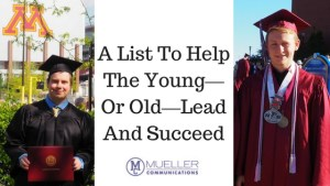 A List To Help The Young—Or Old—Lead And Succeed