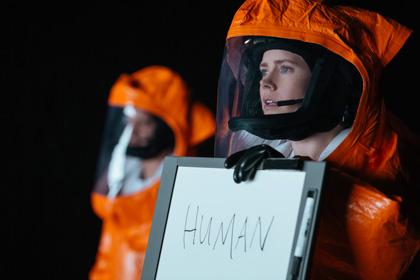Menschliche Botschafterin vor Aliens: Amy Adams| © 2016 Sony Pictures