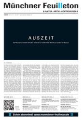 Münchner Feuilleton Ausgabe 59