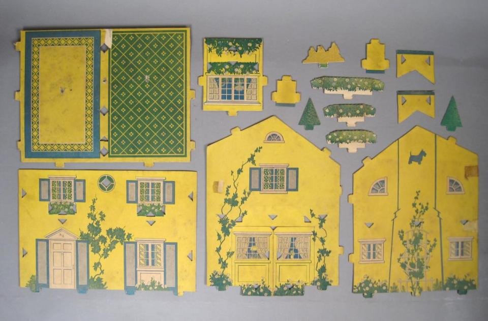 Vintage-Built-Rite-Paper-Doll-House-Set-No-34