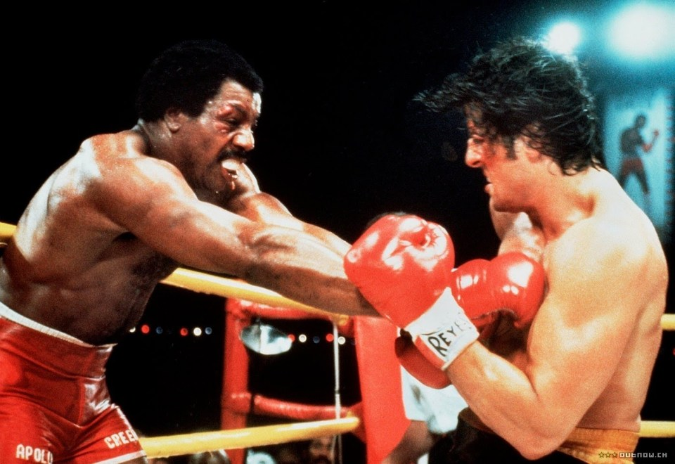 "Apollo Creed vs Rocky Balboa u ""Rockyju II"""