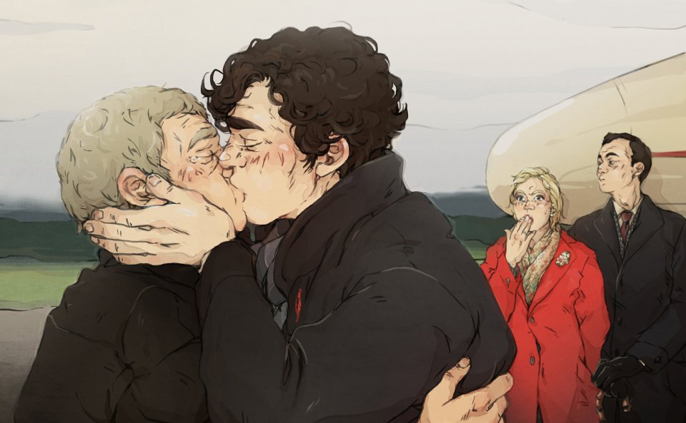 Sherlock fanart: sweetlittlekitty.deviantart.com