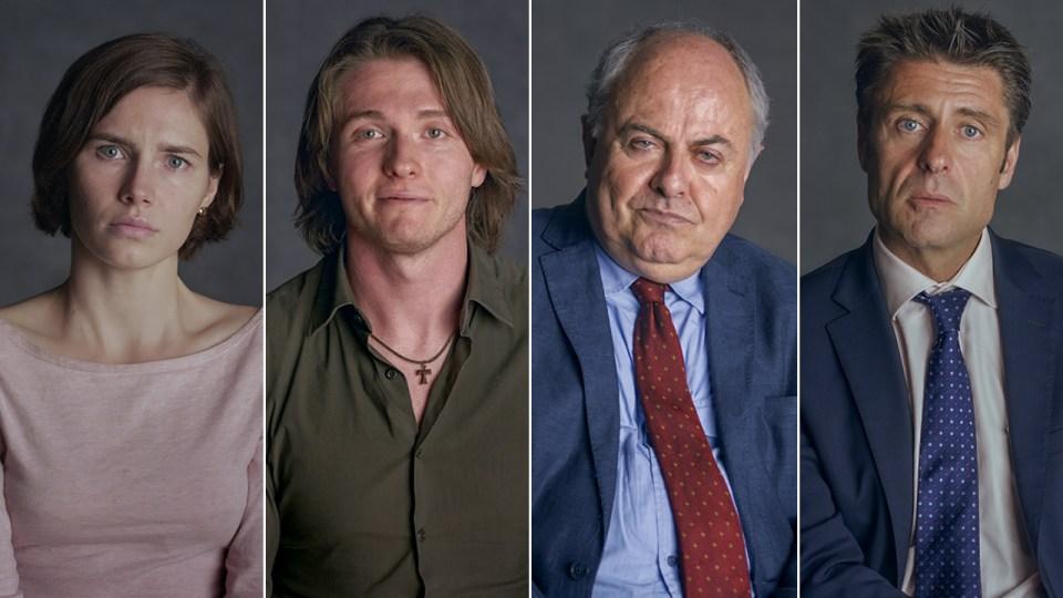 Amanda Knox, Raffaele Sollecito, Giuliano Mignini, Nick Pisa