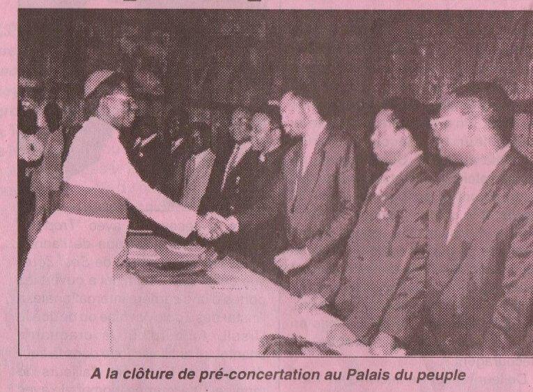 1991, une page de notre histoire commune au Congo-Kinshasa est en cours de se reproduire aujourd'hui encore