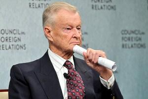 Brzezinski change de discours: «Toward a Global Realignment»