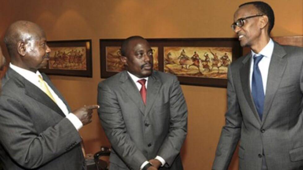 En bonne compagnie de Museveni, « Joseph Kabila » répond à ses pairs du système