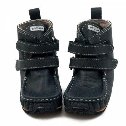 Zeazoo Yeti Black 9mm Sheepskin talvesaapad lastele