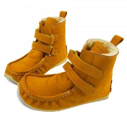 Zeazoo Yeti Sheepskin Camel winter boots for kids