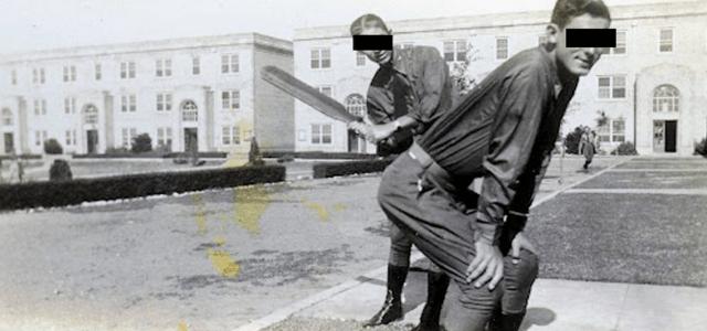 Senator Caught with Corps Escort