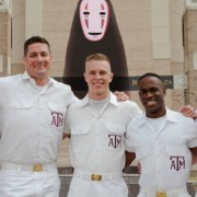 Yell Leaders Tormented by the Spirit of Aggieland