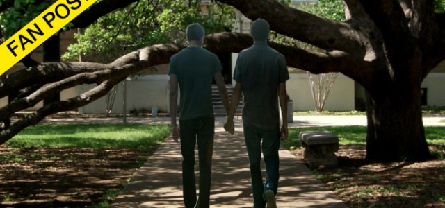 Best Friends Accidentally Walk under Century Tree Together, Now Gay