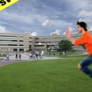 Students Fear Test Imminent when Class-Dodging Senior Spotted