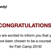 Fish Camp Counselors Take Lead in Humble Brag Competition