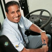 Heroic Bus Driver Delivers Students To Their 8:15 a.m. Classes Right On Time