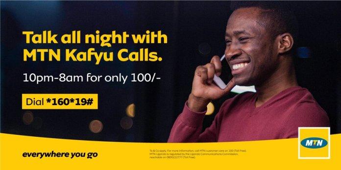 MTN Uganda introduces Kafyu Calls Talk bundles. Here's how to Load 1 MUGIBSON WRITES