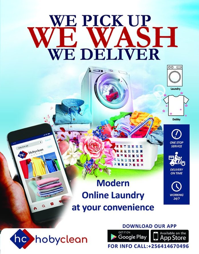 Introducing Hoby Clean: a revolutionary online on-demand Laundry service. 1 MUGIBSON WRITES
