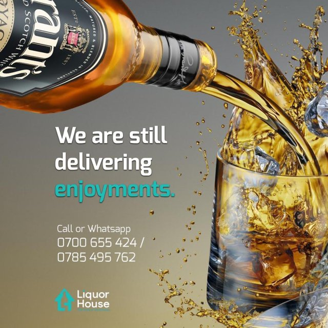 Ugandan Online Liquor store Liquor House brings enjoyments even closer to you with launch of new web delivery platform. 8 MUGIBSON WRITES