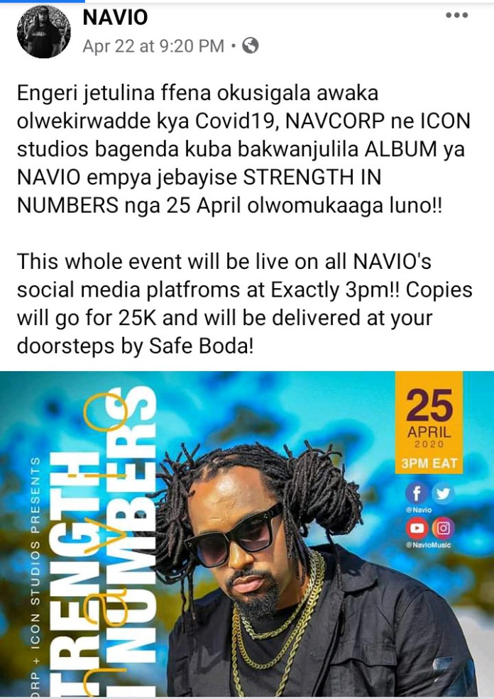 Music Review: Navio's new 'Strength In Numbers' album. Listen Here: - 2 MUGIBSON