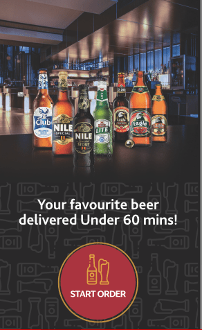 "Nile Breweries Limited (NBL) Launches Online Product and Delivery platform ""Beer Now"". Here's how the centric platform works 1 MUGIBSON WRITES"