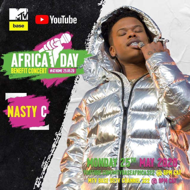 """Bebe Cool, Sean Paul, Nasty C, Teni, Sho Madjozi and more to perform in the """"Africa Day"""" Benefit Concert At Home. 5 MUGIBSON WRITES"""
