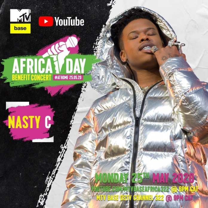 """Bebe Cool, Sean Paul, Nasty C, Teni, Sho Madjozi and more to perform in the """"Africa Day"""" Benefit Concert At Home. 4 MUGIBSON"""