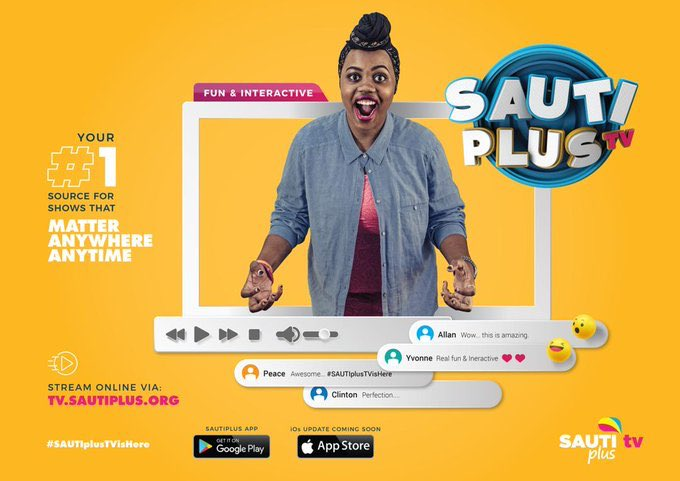 Reach a Hand launches SAUTI Plus TV App and website. 4 MUGIBSON