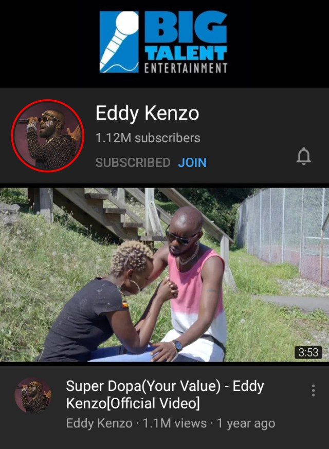 Eddy Kenzo breaks record as he becomes the first Ugandan to receive the YouTube Gold Creator Award. 6 MUGIBSON WRITES