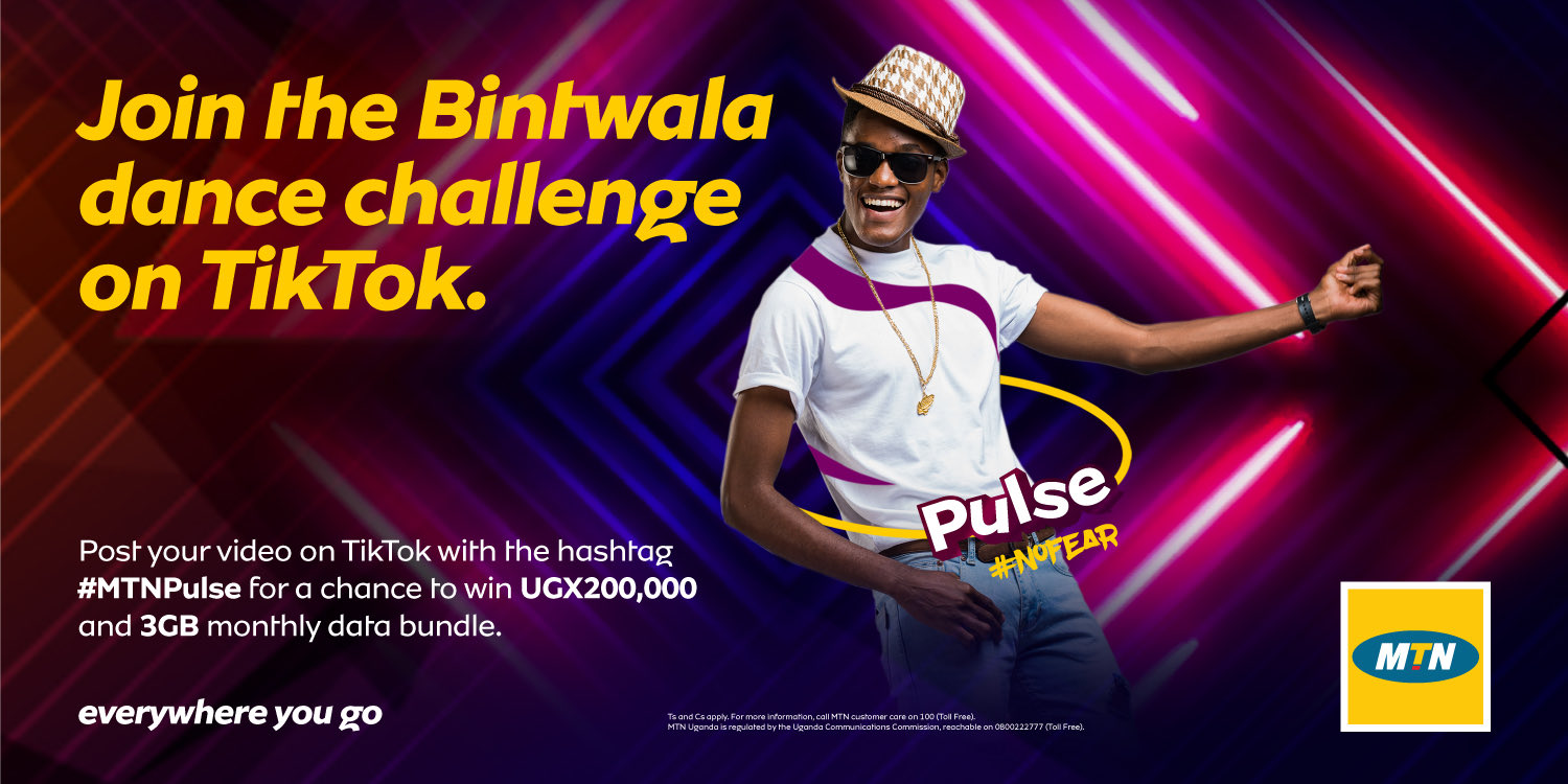 MTN to reward Pulsers in the new Pulse TikTok Challenge. Here's how to participate: 1 MUGIBSON WRITES